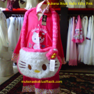 Mukena Anak Hello Kitty Pink